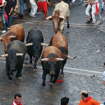 Best place to watch The Running of the Bulls
