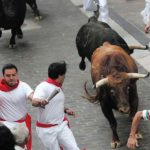How long is The Running of the Bulls route?